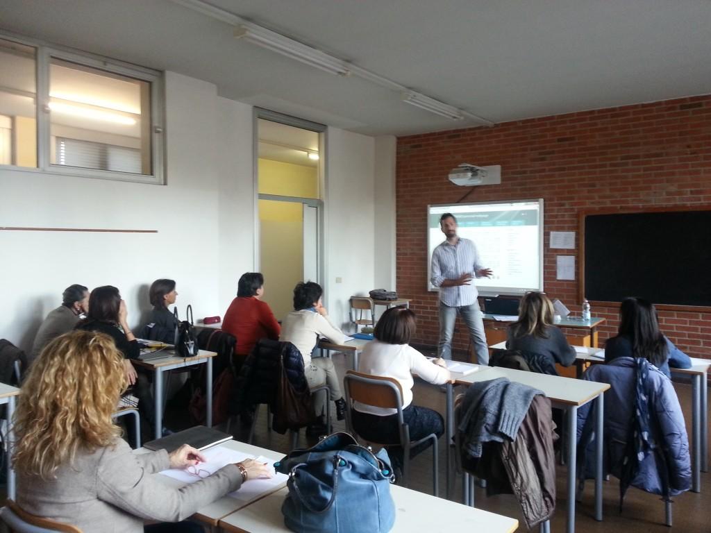 Simone Aliprandi,  licenze e proprietà intellettuale al Liceo Galilei