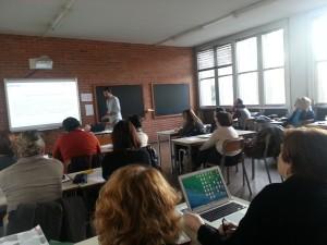 Conferenza di Simone Aliprandi sull'uso corretto di licenze e proprietà intellettuale al Liceo Galilei