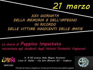 locandina evento libera Voghera 21 marzo