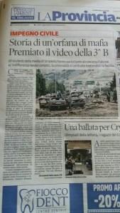 estratto articolo Provincia Pavese